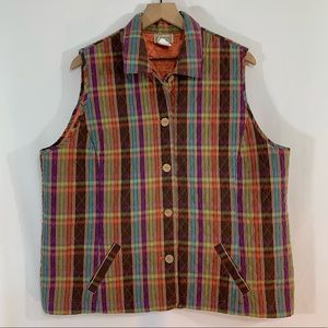 Company Collection Quilted Vest 1X